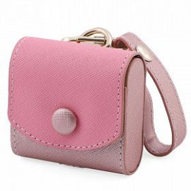 حقيبة صغيرة لسمعات الإذن ( باللونين الأسود و الزهري)