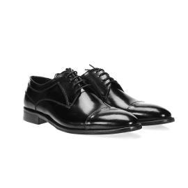 دانتيل - حذاء ضيق جلد طبيعي %