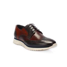 دانتيل - حذاء ذو رباط جلد طبيعي 100%