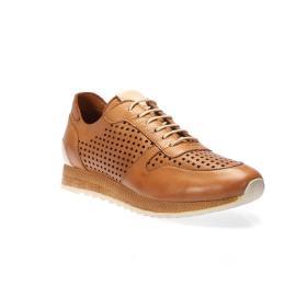 سنيكر - حذاء مثقب من الجلد الطبيعي 100%