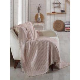 غطاء اريكة بالون اللؤلؤ و اللون الخمري