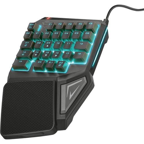 الثقة 22881 ASSA USB للتخصيص RGB Num Pad لوحة يد واحدة