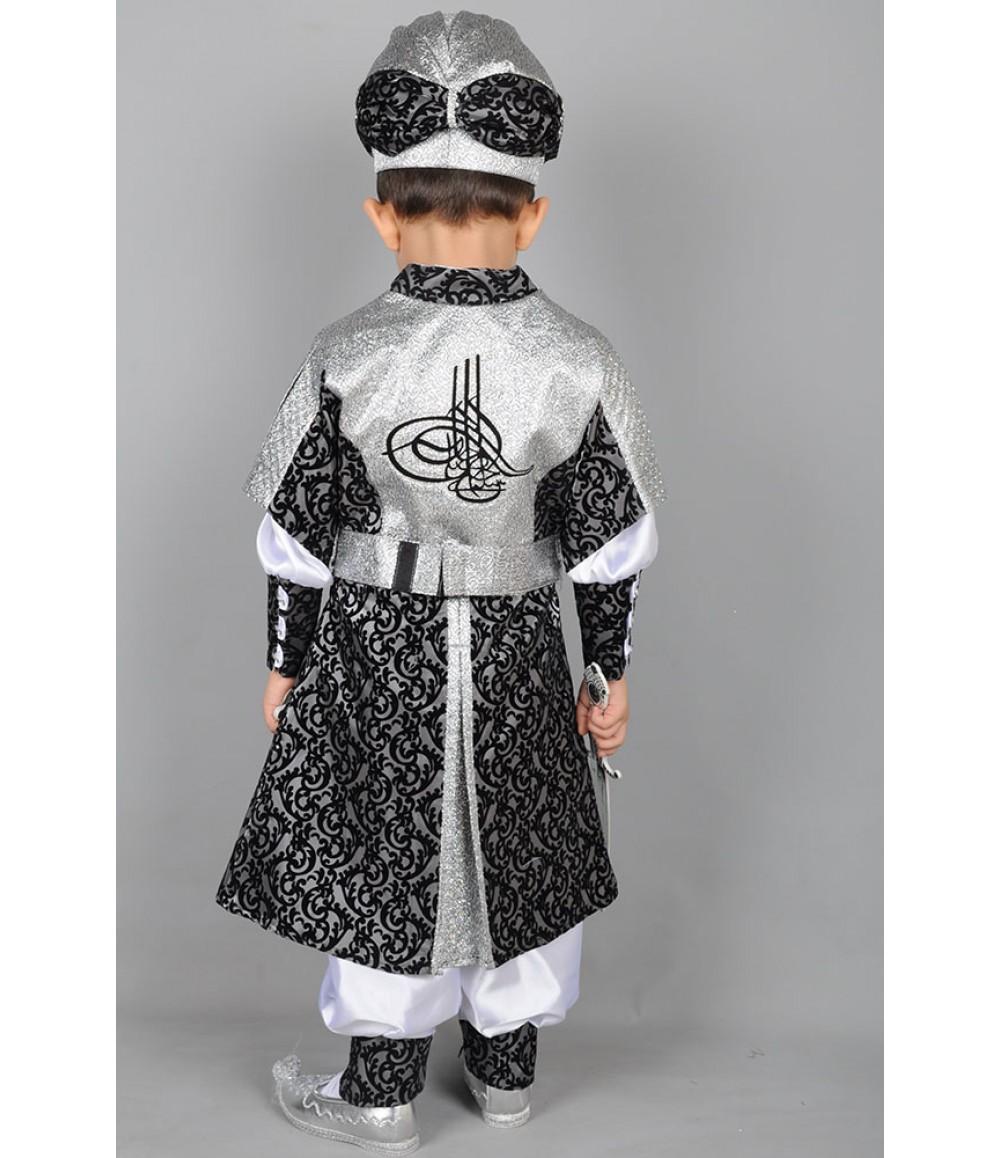 طقم شيهزاده العثماني للاطفال المطرز يدويا صنع في تركيا